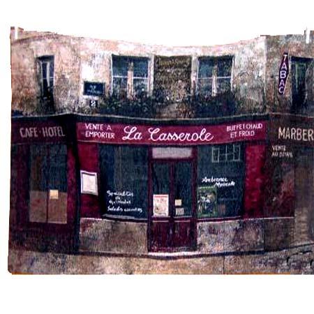 Paris Forgotten Grande Tapestry - Chiu Tak Hak