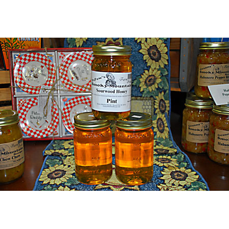 Sourwood RAW Unpasteurized Honey Strained - Pint