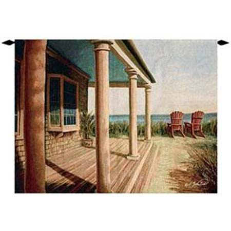 View From The Porch Grande Tapestry - Kari Soderland
