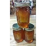 Smoky Mountain RAW Unpasteurized Honey with Honeycomb - Pint
