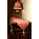 Versailles Chenille Table Runner