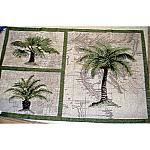 Paradise Palms Tapestry - Janet Kruskamp