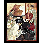 Jazz Quintet Grande Tapestry - Dominguez