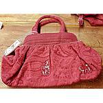 Pretty Pink Paisley Handbag