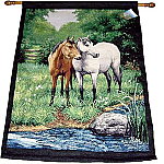 Horses Tapestry Wall Hanging - Linda Picken