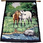 Horses Tapestry Wall Hanging - Linda Picken