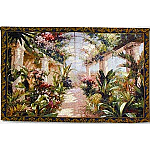 Garden Charm Grand Tapestry - James Reed